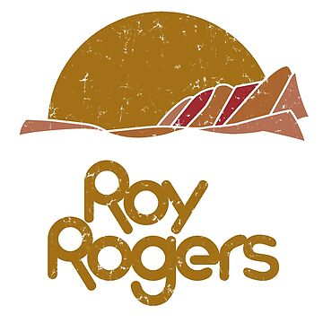 Roy Rogers (distressed for dark shirts) by A-Game