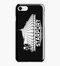 Mt. Space (WHITE) iPhone Case/Skin