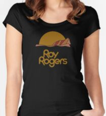 Roy Rogers (clean) Women's Fitted Scoop T-Shirt