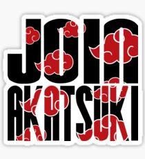 Join Akatsuki v3 Sticker