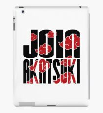 Join Akatsuki v3 iPad Case/Skin