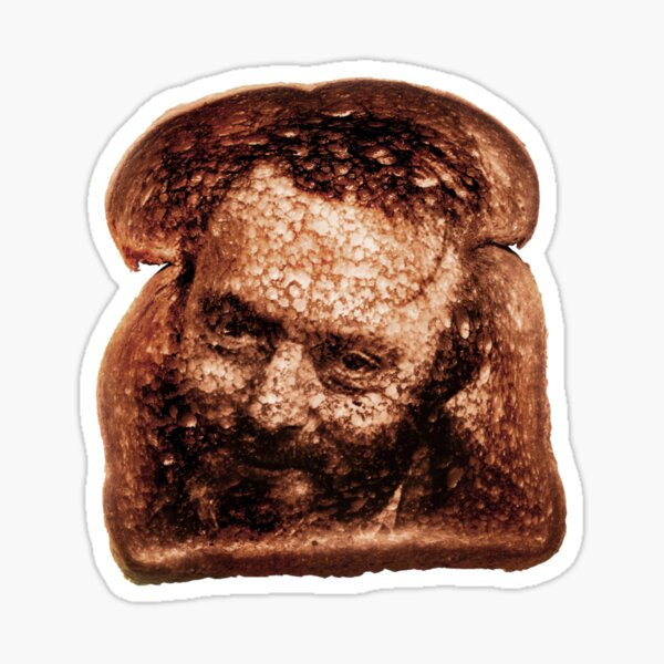 Christopher Hitchens - Toast Sticker