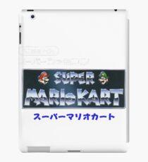 Mario Kart Logo iPad Case/Skin