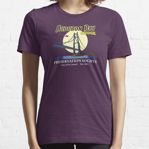 Audubon Bay Bridge Preservation Society Essential T-Shirt