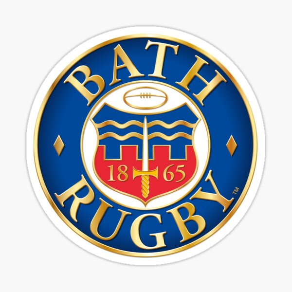 Bath Rugby Sticker
