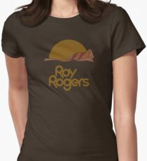 Roy Rogers (distressed for dark shirts) Women's Fitted T-Shirt