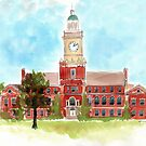 Howard University - Founders Library by Veronica Miller Jamison