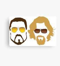 The Dude and Walter Canvas Print