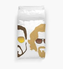 The Dude and Walter Duvet Cover