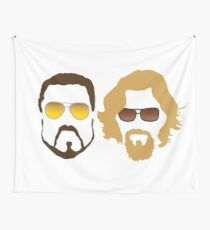 The Dude and Walter Wall Tapestry