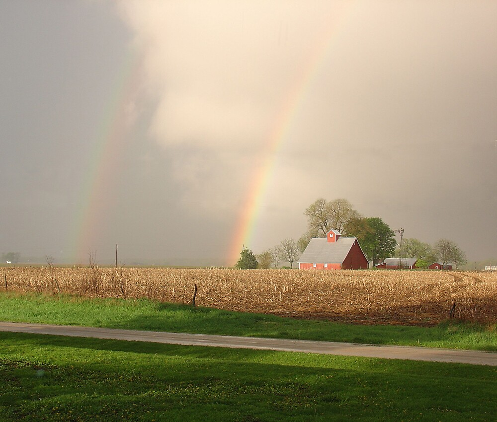 Double Rainbow by Susy Rushing