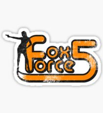 Fox Force Five - Pulp Fiction Sticker