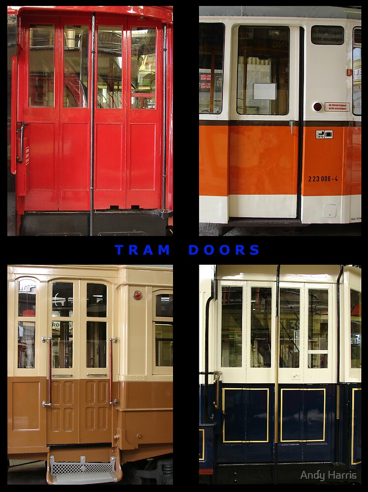 Tram Doors by Andy Harris