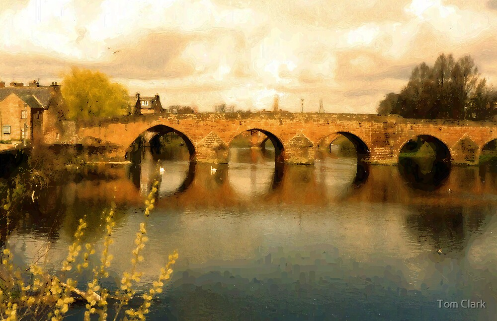 Bridge Across The Nith by Tom Clark