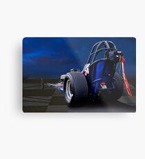 Nostalgia Top Fuel Dragster 2 Metal Print