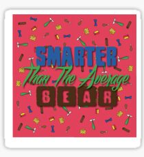 Smarter Than The Average Bear Sticker