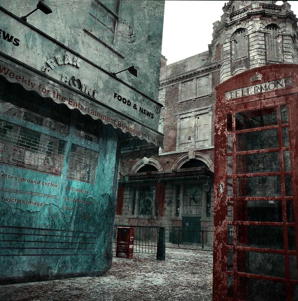 London Ghost City by Al Lapkovsky