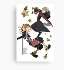 Keyblade Bros Canvas Print