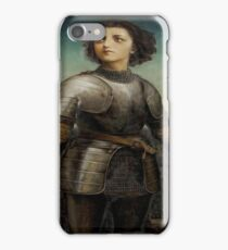 Joan Of Arc In Armour iPhone Case/Skin