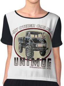 My other car is a UNIMOG Chiffon Top