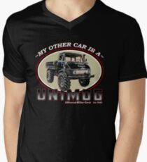 My other car is a UNIMOG Men's V-Neck T-Shirt