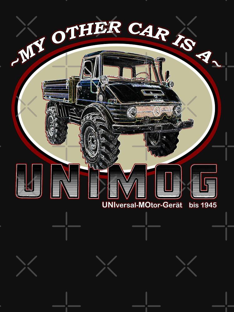 TShirtGifter presents: My other car is a UNIMOG | Unisex T-Shirt