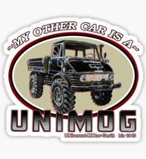 My other car is a UNIMOG Sticker