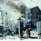 Spider tanks at stalingrad winter by FRUIZ101