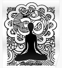 Om Namaste Yoga Poster