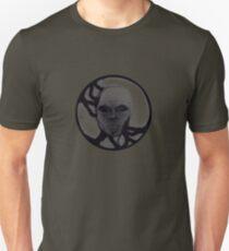T-Shirt: Lightning Face Blackout Unisex T-Shirt