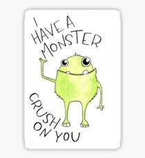Monster Crush Sticker