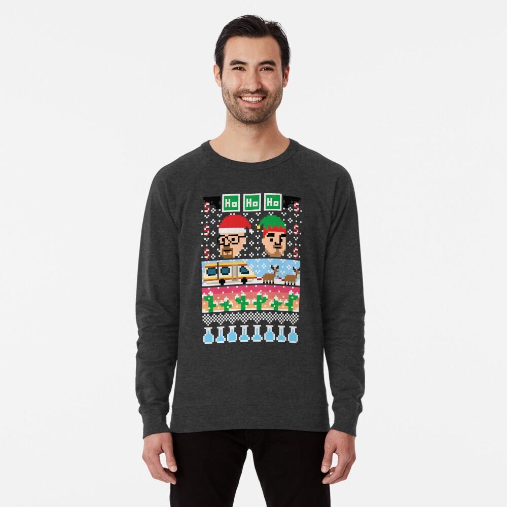 Breaking Christmas - Ugly Christmas Sweater Lightweight Sweatshirt