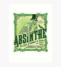 Absinthe Label Art Print