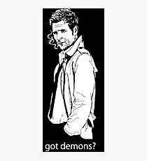 got demons? Photographic Print