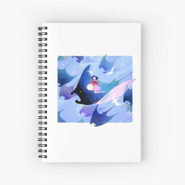 glide. Spiral Notebook