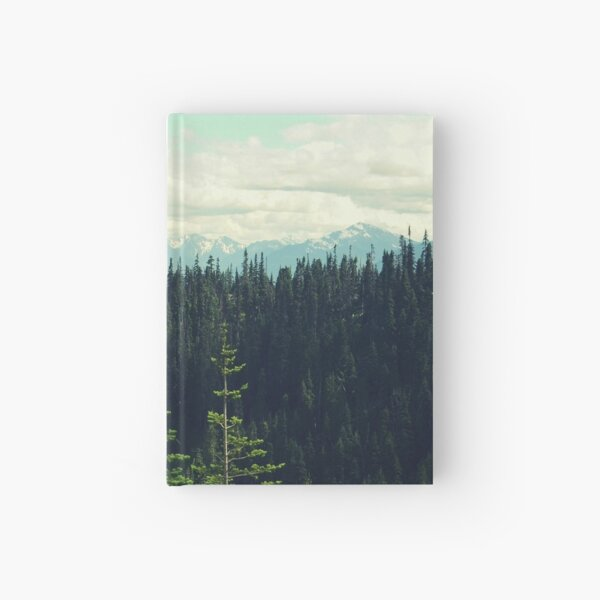 To the Mountains and Back Hardcover Journal