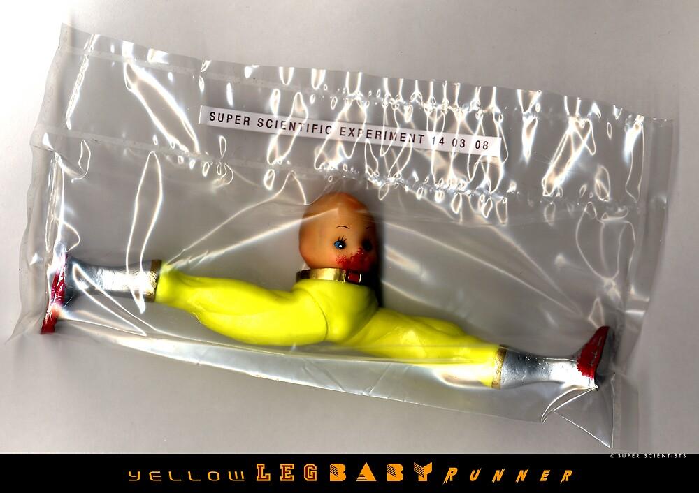 Yellow Leg Baby Runner by santakaoss