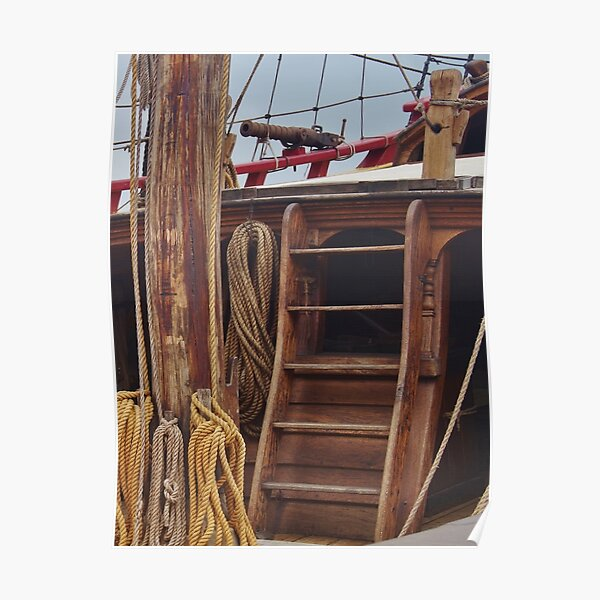 Ship's Ladder Poster