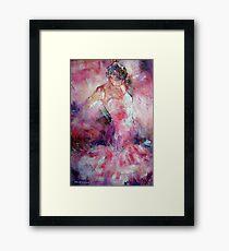 Absorbed In Dance - Dancers Art Gallery Framed Print