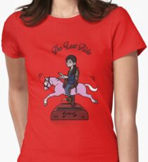 The Last Ride Womens Fitted T-Shirt