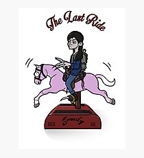 The Last Ride Photographic Print