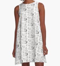 chinchilla pals A-Line Dress