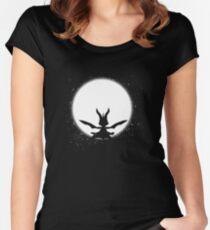 Spyro-Night Women's Fitted Scoop T-Shirt
