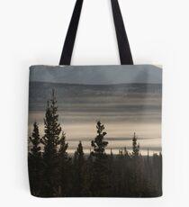 Yukon Mist Tote Bag