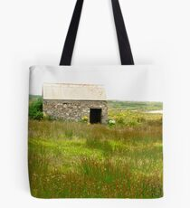 Old stone shed, Fanad Head, Donegal, Ireland Tote Bag