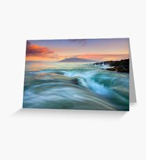 Folding the Sea Greeting Card