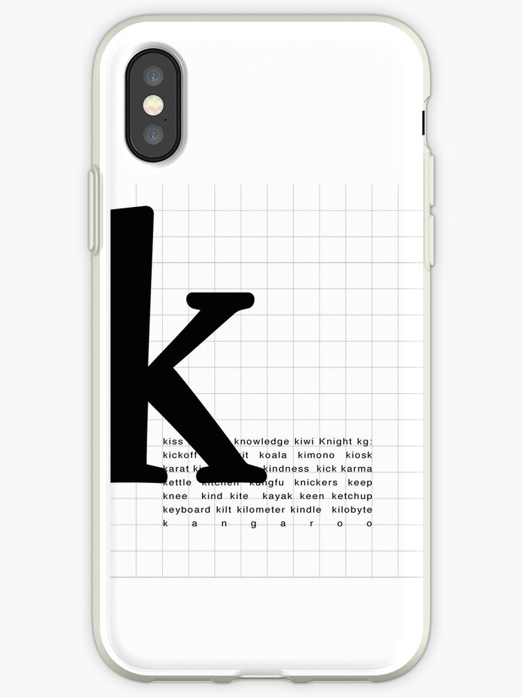 Art Print Words With Letter K Words And Letters Typography