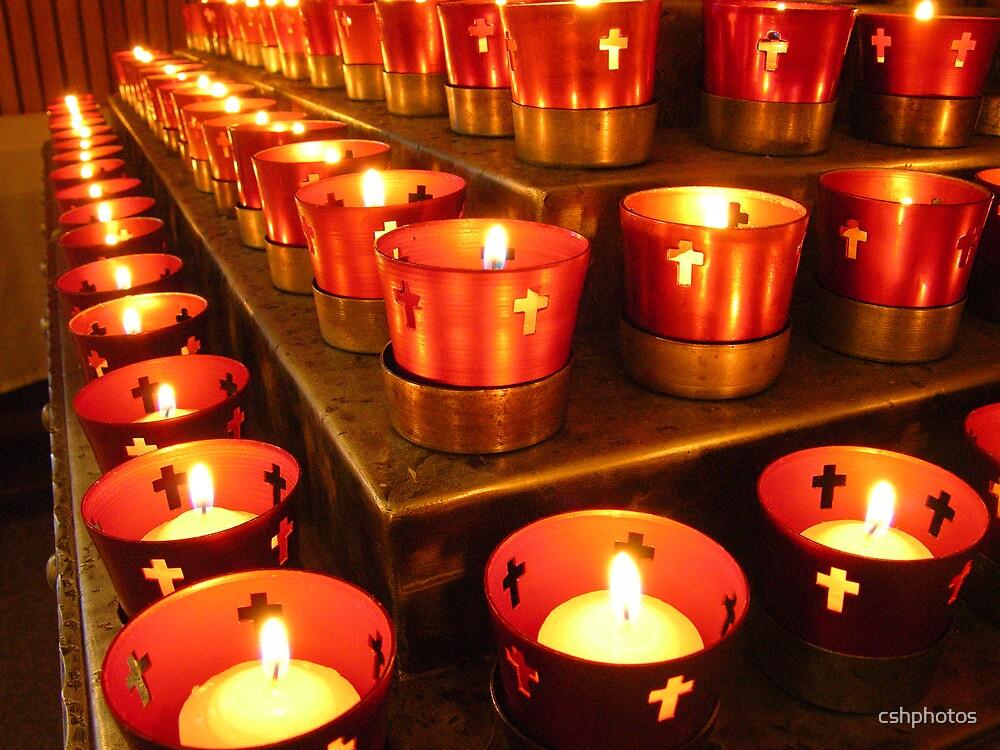 Prayer Candles by cshphotos