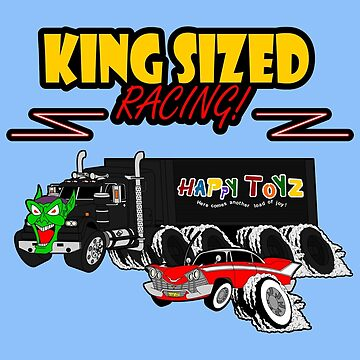 Stephen King Sized Racing! by robotghost