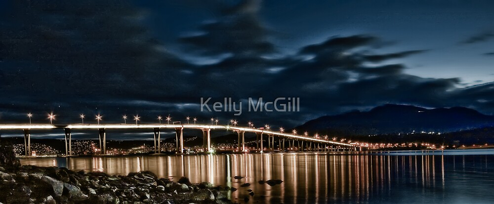 Tasman Bridge, Hobart by Kelly McGill